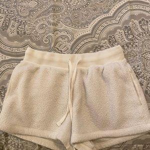 Fuzzy shorts